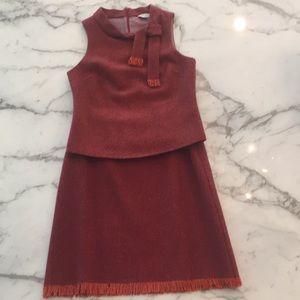 Trina Turk 2 pc top skirt set